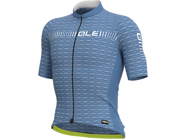 Alé Cycling Graphics PRR Green Road SS Jersey Men dust grey/white
